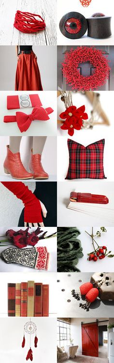 Red in September by Paula on Etsy--Pinned with TreasuryPin.com