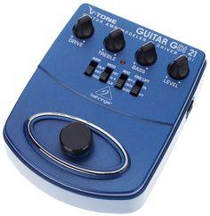 Behringer V-Tone Guitar GDI21 Gitarrenpreamp/Effektpedal