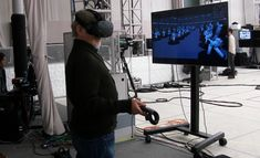 How Steven Spielberg Used VR to Shoot 'Ready Player One' - VRScout  ||  Share TweetThe HTC Vive was used to frame shots in VR. Virtual reality took center stage in Steven Spielberg's Ready Player One blockbuster film when it was released March 29th. But we are also learning how immersive technology played a role during the actual production of the movie too. In a new video shared by … https://vrscout.com/news/steven-spielberg-vr-to-shoot-ready-player-one/