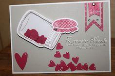 Stampin' Up!, Geburtstagskarte, Stanze, Stempel, Framelits