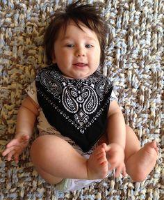Fun bandana bib makes all moms happy keeping those babies dry. https://www.etsy.com/listing/266564712/bandana-bibs-bandana-droolie-bib-baby?ref=featured_listings_row