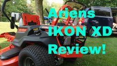Ariens IKON XD Walkaround Review Zero Turn Mowers, Lawn Equipment, Ikon, Monster Trucks, News, Icons