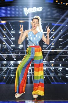 Tonight at 8 p.m., Miley Cyrus joins the coaches for The Voice Knockouts!