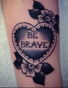 "Instead ""Brave Enough"""