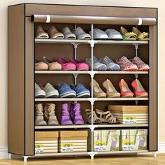 Home Furniture Clever Shoe Cabinets Shoe Rack Sapateira Home Furniture Assembly High Density Wood Plastic Zapatero Multi Size New Shoe Organizer 2018 Reliable Performance Furniture