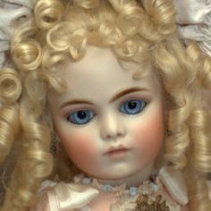 Bru Jne 9 Mechanical Doll Hand made antique reproduction  By Mary Benner