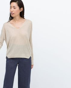 Image 3 of SHIMMER SWEATER from Zara