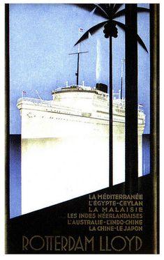 The Royal Mail's Rotterdam Lloyd (1930's)