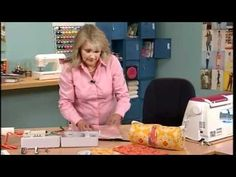 Video of making a barrel bag on It's Sew Easy.  To watch later!