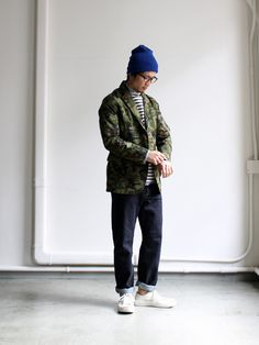 nanamica GORE-TEX Camouflage Field Jacket