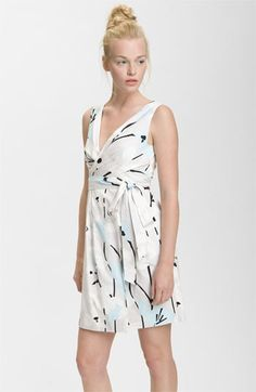 DVF wrap dresses are ridiculously flattering. Also ridiculously expensive, unfortunately.