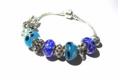 Opal Rainbow Charm Bracelet