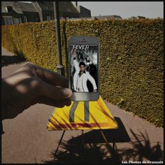 Pin for Later: See How an Artist Uses His iPhone to Re-Create Famous Movie Scenes Saturday Night Fever Famous Movie Scenes, Arte Peculiar, Iphone, Street Art, Saturday Night Fever, Culture Pop, Cinema, French Photographers, Creative Photos