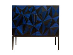 """AVILA CABINET IN STRAW MARQUETRY DescriptionE1-13 Avila cabinet in blue and black straw marquetrySpecificationsW100 x D45 x H90cm W39.50"""" x D18"""" x H35.50""""Bespoke options custom sizes and finishes available. DownloadClick …"""