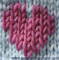 Duplicate stitch tutorial and a video