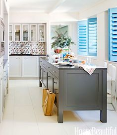 English Country Style Kitchen - Arts and Crafts Interior Design - House Beautiful