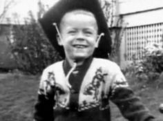 "Serial rapist and killer Theodore Robert ""Ted"" Bundy as a child"
