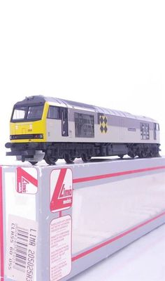 #LIMA L205025 - BR IC RAILFREIGHT COAL GREY LIVERY #CLASS60  THOMAS BERNARDO  055