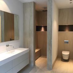 Modern light bathroom