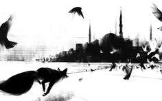 De l'art ou du cochon Jama Jurabaev Art Fox, Jama Jurabaev, Istanbul, Best Messenger, Painting & Drawing, Graphic Art, Concept Art, Art Drawings, Moose Art