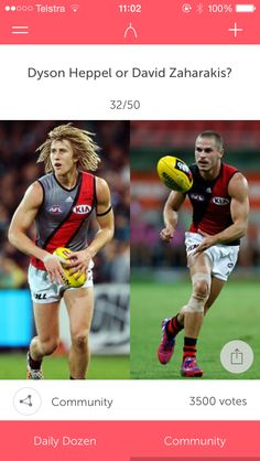 Came across this. It's spelt Heppell dumbass but putting that aside, how the fuck can I choose!? Who the fuck made this, I'll kill them! my boys
