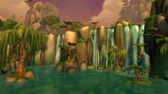 Jade Forest - Mists of Pandaria (Beta), World of Warcraft, gaming