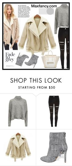 Maxfancy.com by gaby-mil ❤ liked on Polyvore featuring Designers Remix, River Island, Steve Madden, CÉLINE and maxfancy
