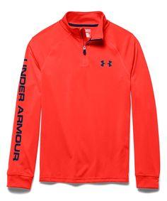 af136962237 Loving this Under Armour® Bolt Orange UA Tech Quarter-Zip Pullover - Boys on