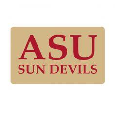 Arizona State University Sun Devils Custom Return Address Labels - Free Shipping. Your University Return Address label on your College Announcements will emphasize your team spirit.