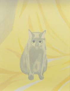 Saskia Leek, Animal at Home, 2007 Magritte, Animal Paintings, Cat Art, Neko, Art Museum, New Zealand, Portrait, Figurative, Cats