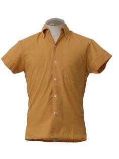 1960s Mod Sport Shirt