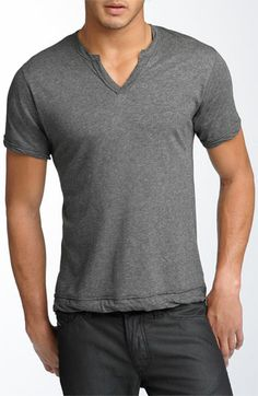 Versatile + comfortable fitted T-shirt for guys.