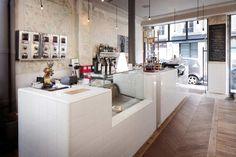 Coffee shop ideas cafe style, my coffee shop, coffee store, coffee ca Coffee Shop Interior Design, Coffee Shop Design, Modern Interior Design, Design Café, Cafe Design, Paris Design, Design Ideas, Cafe Bar, My Coffee Shop