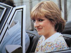 Lady Diana Spencer before her marriage