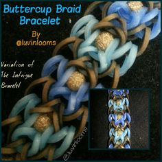 Buttercup Braid Bracelet By @luvinlooms on instagram (for sale too)