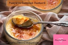 Fearless Fitness: Pumpkin Coconut Custard. Tasty treat to get you in ...