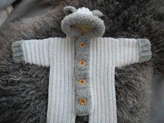 Bear suit crochet pattern