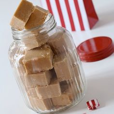 home made fudge, the perfect little budget Christmas gift and the perfect…