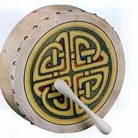 I love the Celtic rhythms played on a bodhran.