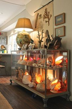 Eclectic Living Room by Luci.D Interiors Great concept for shop displays...