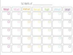 I Love Free Printable Calendars
