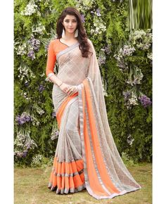 Staying away from saris due to summer heat? Go for this Georgette saree that is soft and lightweight.