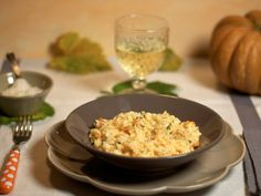 Innamorarsi in cucina: Risotto alla zucca e erbe aromatiche e zenzero