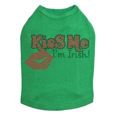 Kiss Me I'm Irish # 2 - Dog Tank