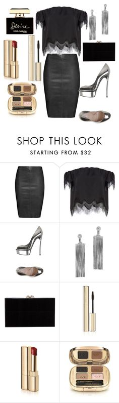 """Untitled #387"" by alexandraspring98 ❤ liked on Polyvore featuring Jitrois, Casadei, Jack Vartanian, Charlotte Olympia and Dolce&Gabbana"