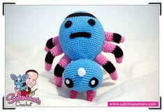 Spinarak - Pokemon - Free crochet pattern - Amigurumi