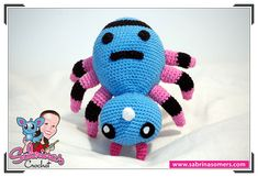 Spinarak - Pokemon - Free crochet pattern - Amigurumi