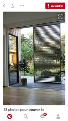 75 Fabulous Privacy Screen Design for Modern Home - Page 18 of 55 Screen Design, Backyard Patio, Backyard Landscaping, Landscaping Ideas, Desert Backyard, Patio Fence, Backyard Ideas, Murs Mobiles, Outdoor Spaces