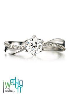 [아이웨딩] Diamonds Ring