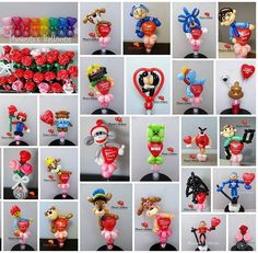 Accepting orders for Valentine's Day now!! We do candy cups (with or without chocolate kisses), bouquets, sculptures and so much more. Here are just some selections that I have done before. Prices vary depending on design. Message us for details. Send something different this year :-) #valentinesday2018 #happyvalentinesday #partyfavors #balloonart #showyourlove #phoenixsballoons #peterboroughontario #ptbo #ptbocanada